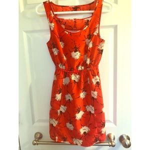 Beautiful urban outfitters floral print dress